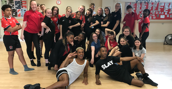 West End stars visit Burnt Mill Academy