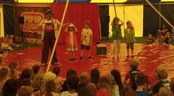 Circus comes to Roydon Primary school