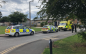 Emergency services descended on Purford Green area