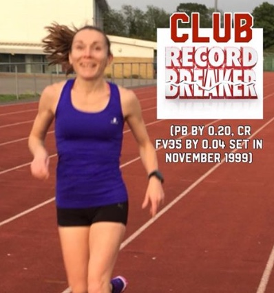 Athletics: Wright can do no wrong as she breaks another club record