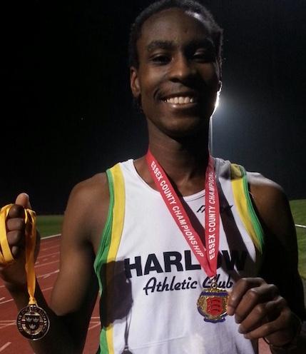 Athletics: Harlow AC's Shemar wins British Univ Champs