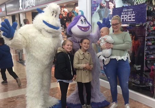 Smallfoot makes big impression at Harvey Centre