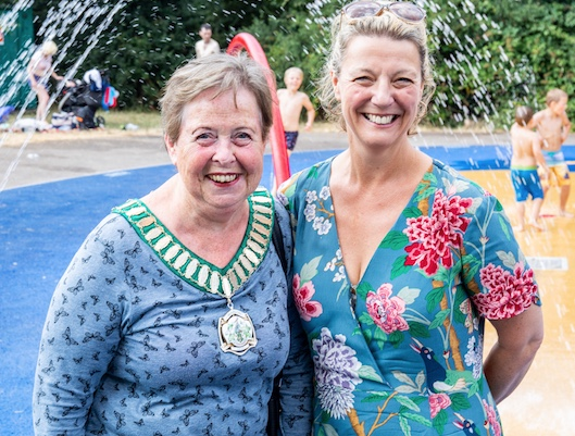 Harlow 39 s paddling pools are open your harlow - Harlow swimming pool opening times ...