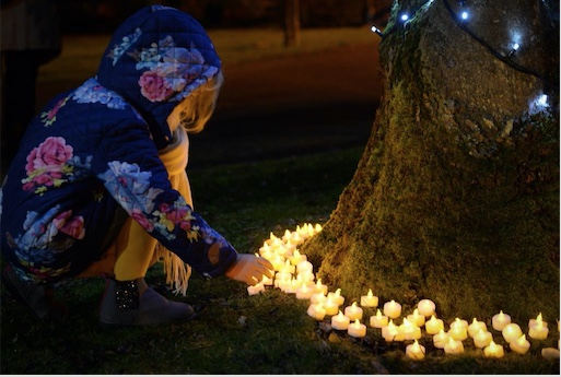 Hundreds come together for St Clare Hospice Light Up A Life