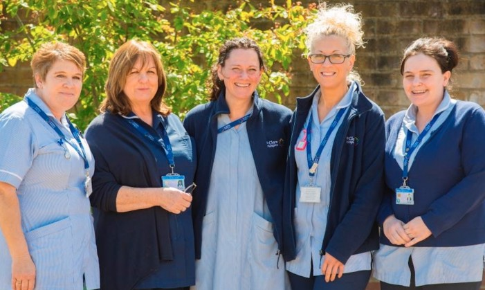St Clare Hospice receives it's 2500th referral