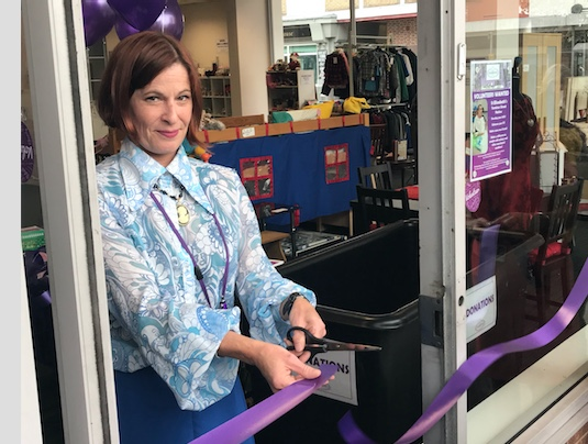 St Elizabeth's open new charity shop in town centre