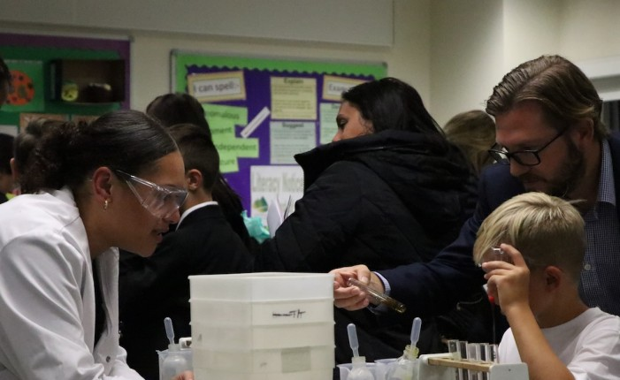 Parents flock to open evening at transformed St John's