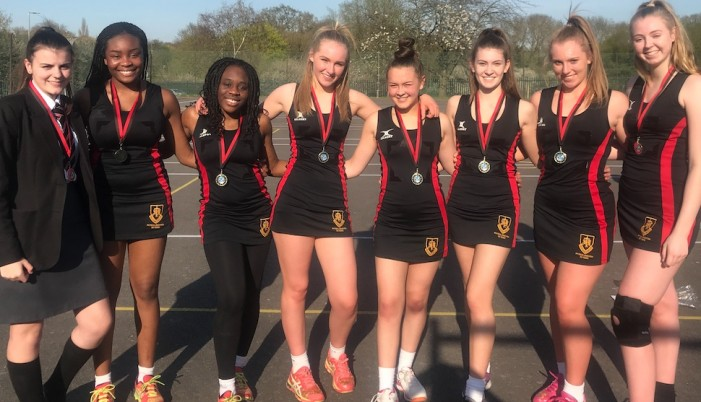 St Mark's Netball team follow in former pupil Jo Harten's footsteps