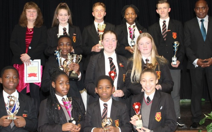 St Mark's West Essex Catholic School Sport Awards' Evening