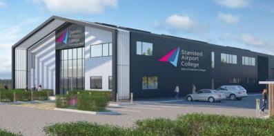 Lift off for Harlow College and Stansted Airport technical skills college