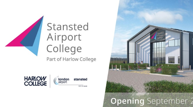 Stansted Airport College welcomes first students