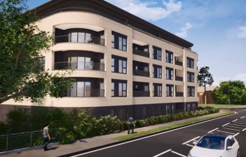 Planning approval given for new flats at old Lister House site