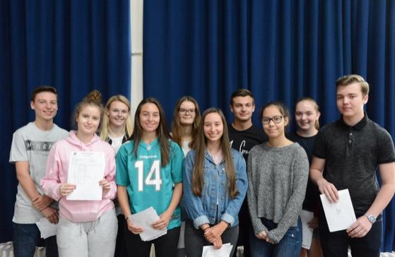Stewards Academy celebrate GCSE success