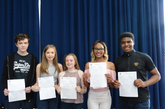 Stewards Academy celebrate exam results