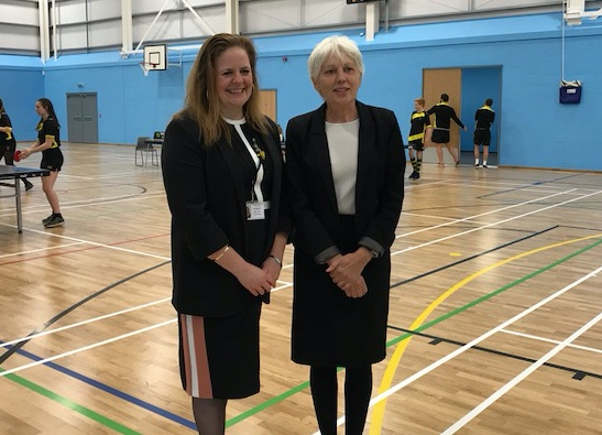 Stewards Academy open new sports hall