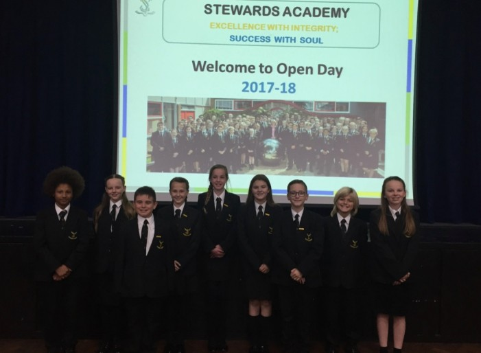 Huge numbers for Stewards Academy Open Day