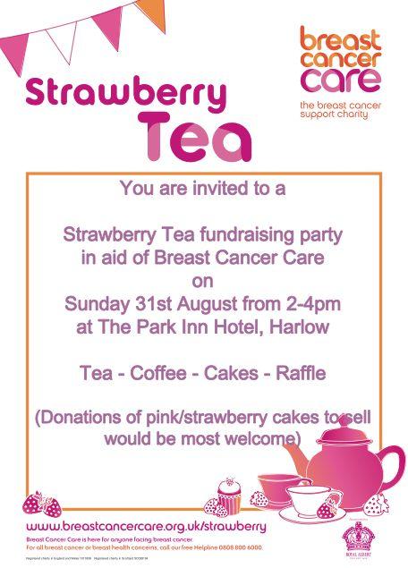 Strawberry Tea at Park Inn