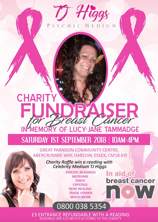 Charity fundraiser for Breast Cancer
