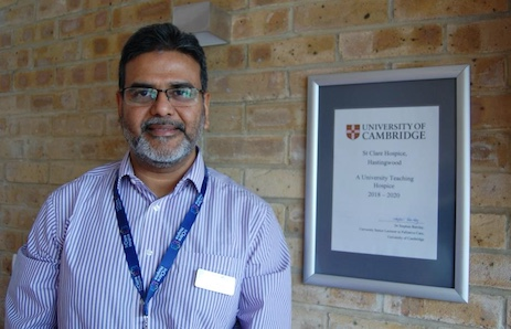 St Clare Hospice becomes University of Cambridge Teaching Hospice
