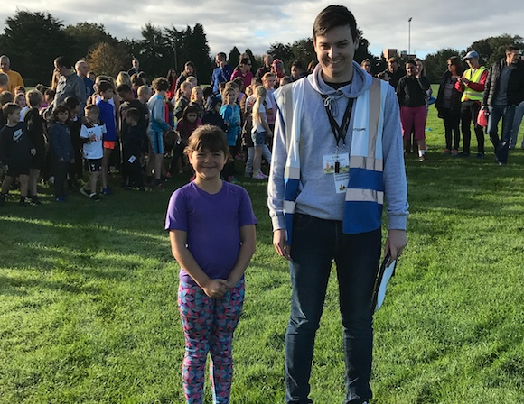 Eight-year-old Tegan completes her 50th Harlow parkrun