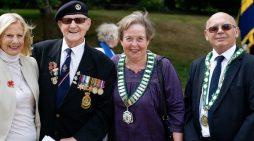VJ Day commemorated in Harlow