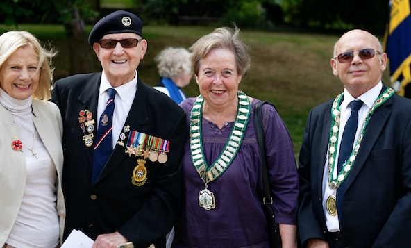 VJ Day commemorated in Harlow