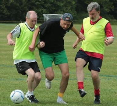 Walking Football: The Horseshoes walk to victory