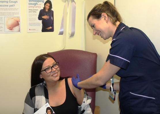 Princess Alexandra Hospital Trust steps up fight against whooping cough