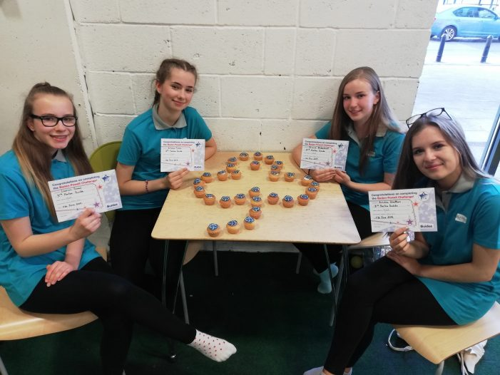 Four Harlow Guides and Rangers win prestigious Baden Powell Award