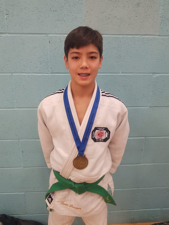 Harlow Judo Club student reaches British Schools Finals.