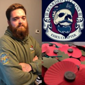 Please support Ryan on his 10K weighted Poppy Run