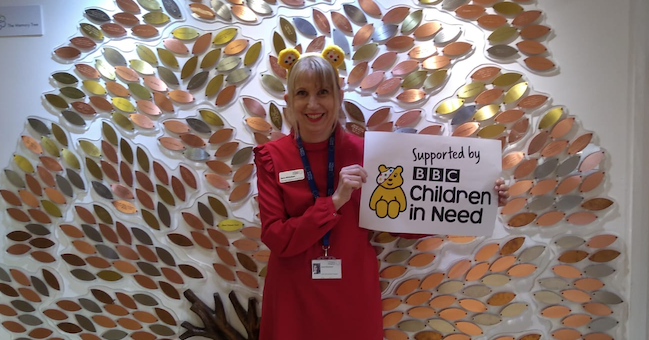 St Clare Hospice celebrates BBC Children in Need's 2020 Appeal