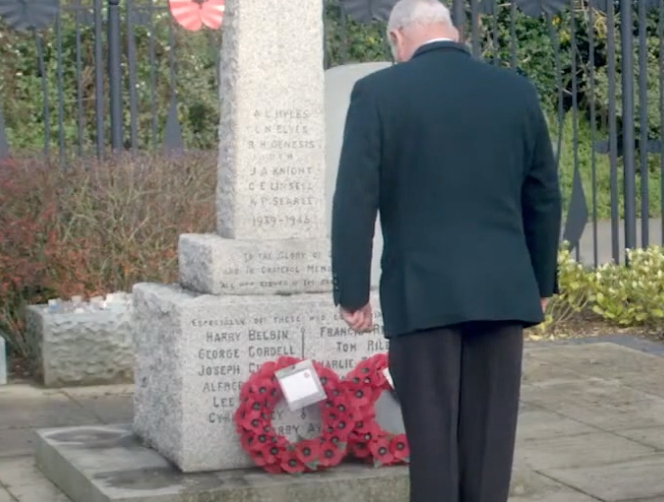 Harlow's emotional Remembrance Service goes on-line
