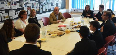 Harlow MP Robert Halfon welcomes news that Mark Hall Academy joining BMAT