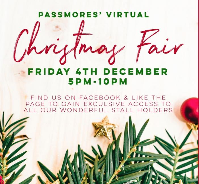Passmores Virtual Christmas Fair