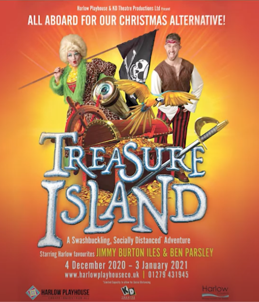Harlow Playhouse is set to land on Treasure Island