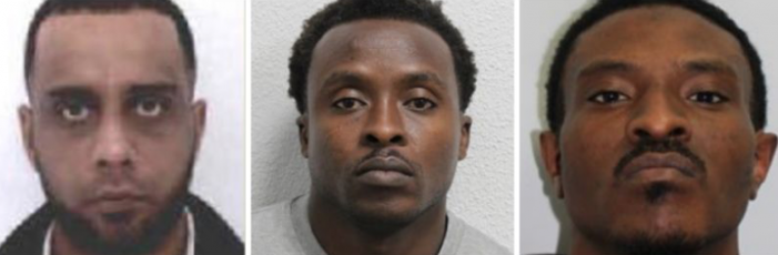 Reward for help to find three men wanted in connection with Water Lane fatal shooting