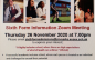 St Marks invitation to virtual Sixth Form Open Evening