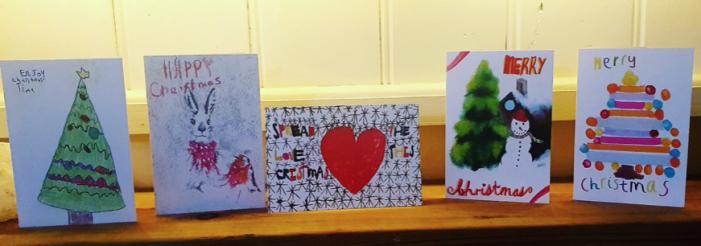 West Essex Mind Christmas cards