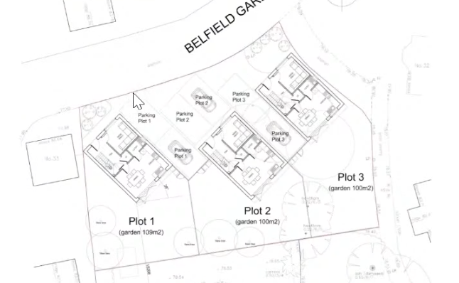 Planning bid for new houses in Kingsdon Lane-Belfield Gardens thrown out