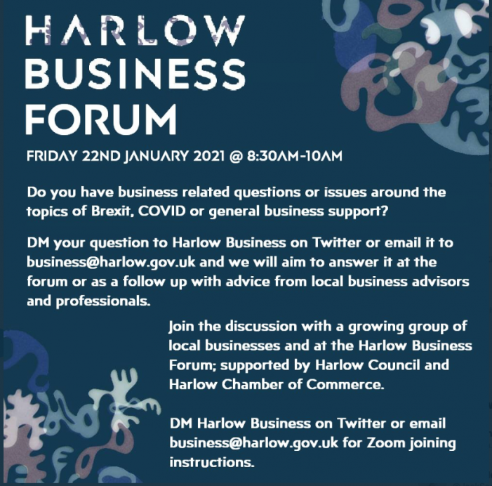 Harlow Business Forum set to meet