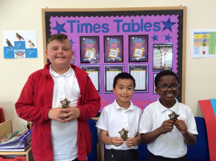 Schools go head to head for Times Tables Rock Stars Tournament