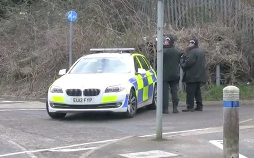 Armed police called to traveller site in The Pinnacles