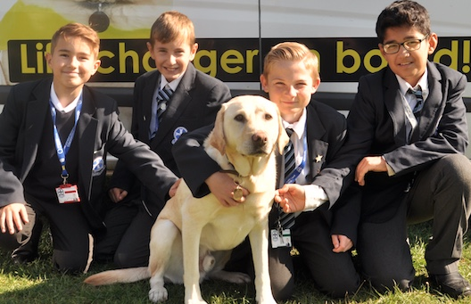 Passmores students enlightened by visit from Guide Dogs for the Blind