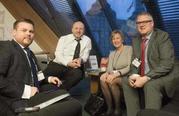 Liam Byrne MP meets with ADAS and Cllr Ian Beckett to discuss the Children of Alcoholics Manifesto