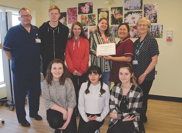 Harlow College students bring a little nature to Princess Alexandra