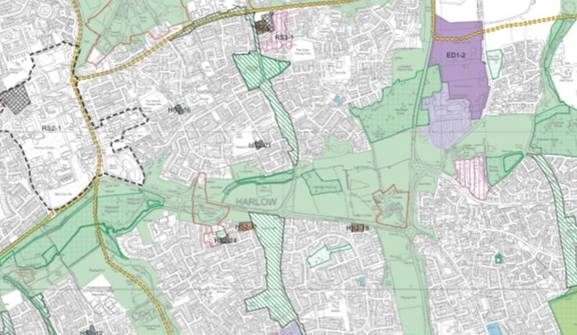 Consultation for building in and around Harlow extended