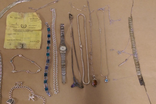 Stolen items found at Harlow farm