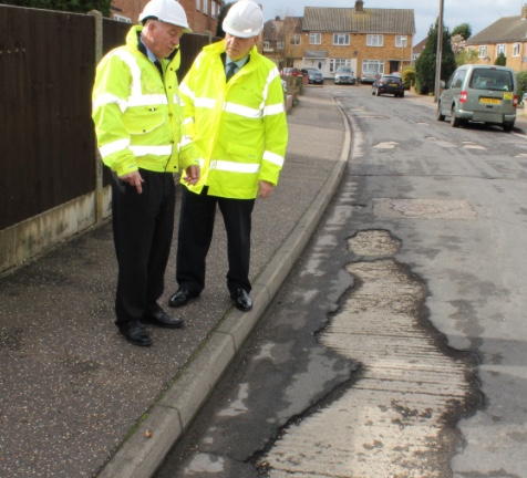 Trial to improve state of roads in Harlow