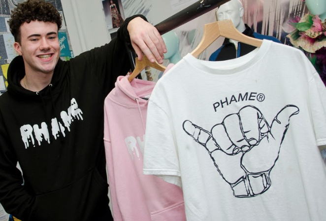 Harlow College student starts up new streetwear company